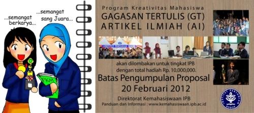 PKM GT – PKM AI 2012